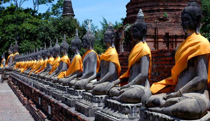 Tour de um dia a Ayutthaya, a antiga capital da Tailândia