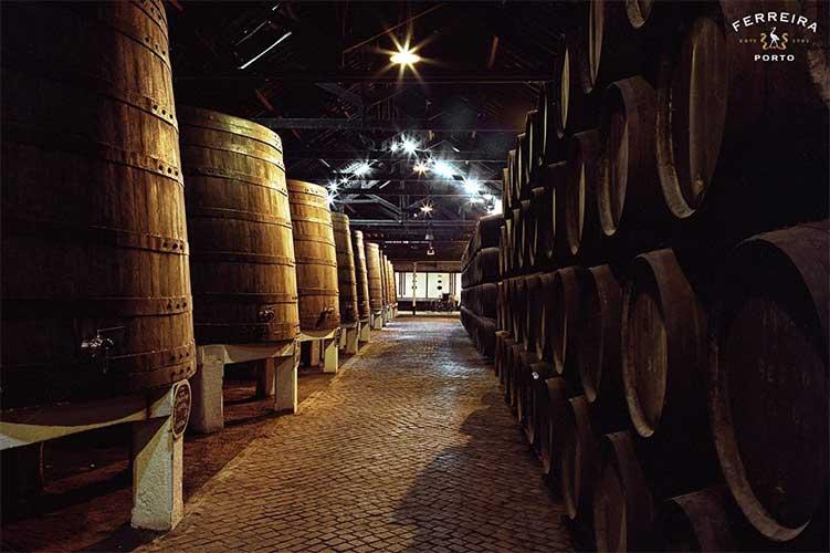 armazenamento vinho do porto