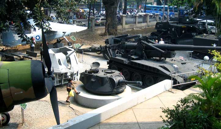O Museu de Memórias da Guerra do Vietnã em Ho Chi Minh