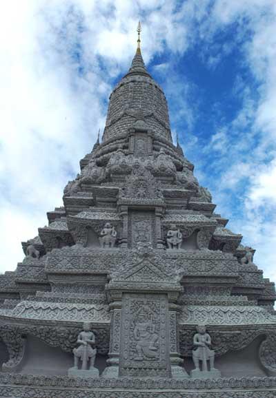 Pagoda-prateada