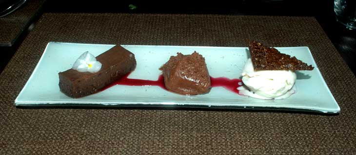 Trio de Chocolate