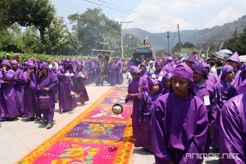 procissão semana santa antigua guatemala