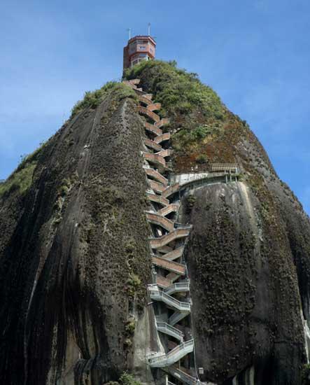 Pedra El Peñol de Guatapé Colômbia
