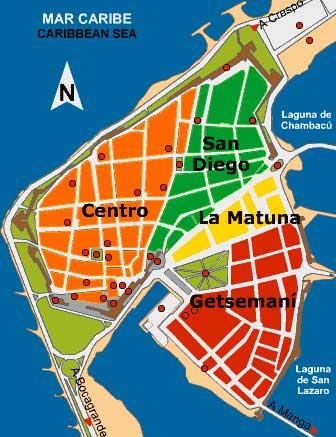 Mapa da Cidade Amuralhada