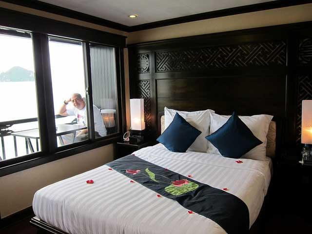 cruzeiro de luxo halong bay