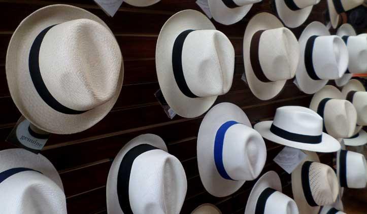 Chapéu Panamá, o famoso sombrero de origem equatoriana