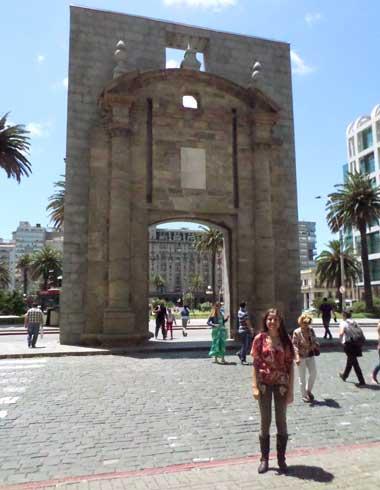 Puerta de la Ciudadela em Montevideu