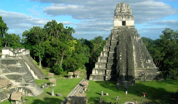 Praça Principal de Tikal