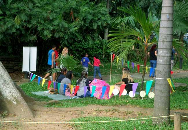 cumpleaños en el jardin botanico de Medellín