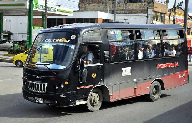 transporte publico bogota
