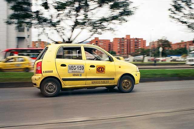 taxi em bogota