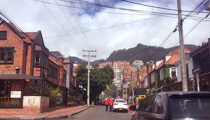 onde ficar Zona G Bogotá região de restaurantes