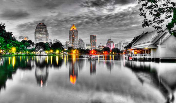 Pecados e santo em Bangkok