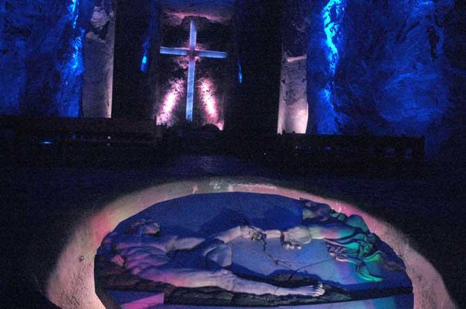 atividades da catedral de sal de zipaquirá colombia