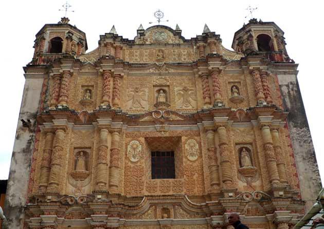 Igreja de São Domingos em San Cristóbal de las Casas