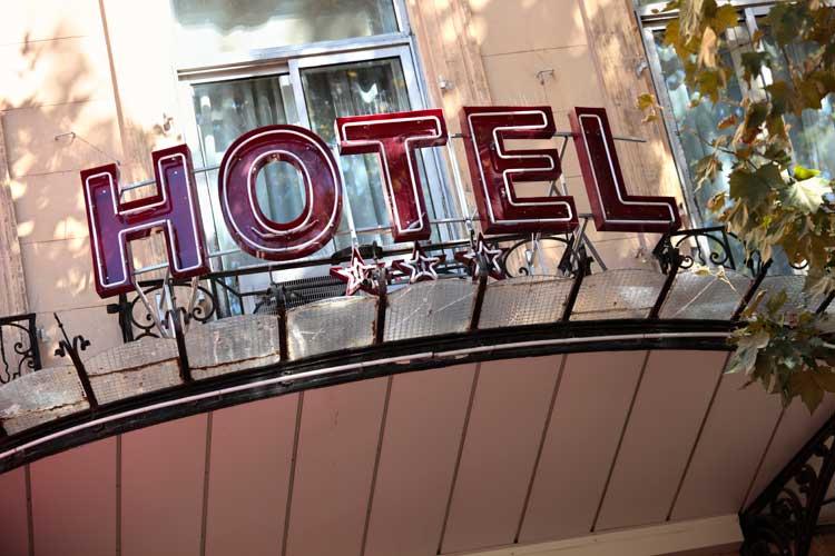 como escolher hotel em uma viagem