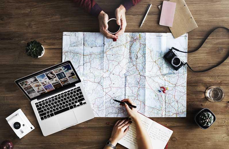planejar viagem exterior