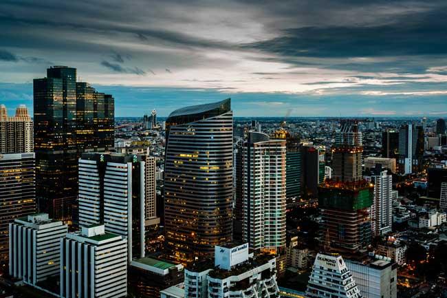 melhores bairros para hospedar em Bangkok Tailândia