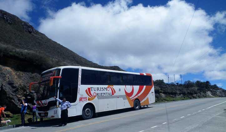 Como viajar de ônibus dentro do Equador