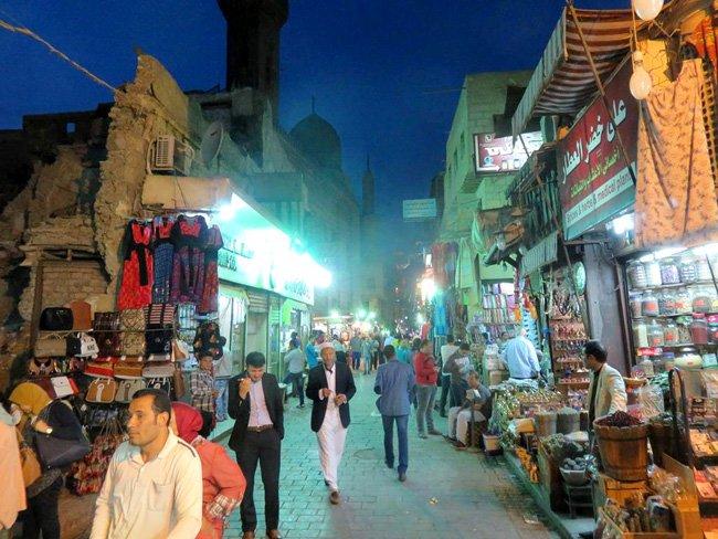 feira mercado Bazar Khan al Khalili