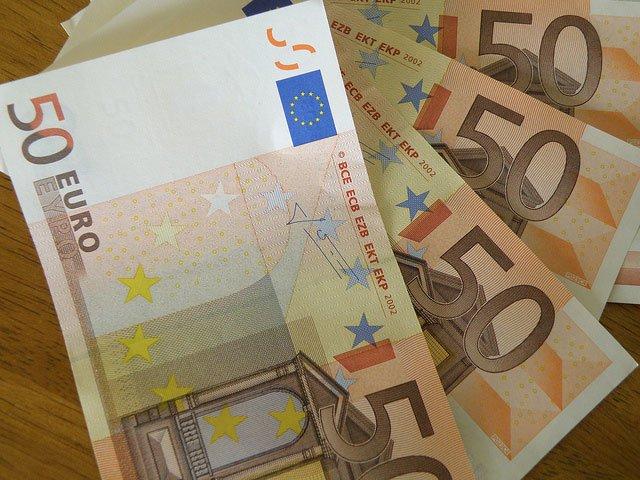 notas de $50 euros