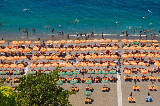 verão italia praia