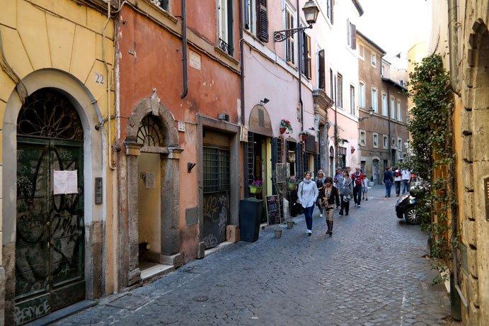 Bairro romano de Trastevere