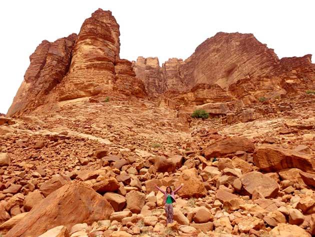 laurencia arabia wadi rum jordan