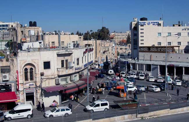 parte arabe de jerusalem