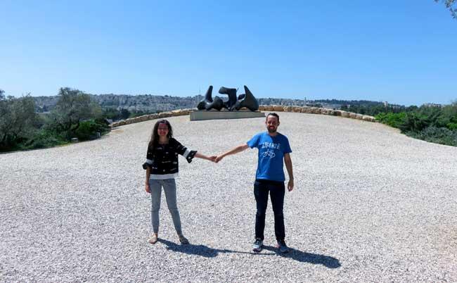 pátio do museu de israel