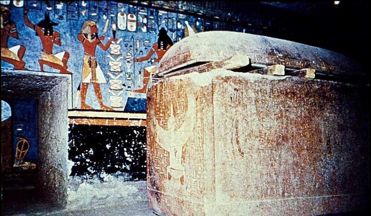 Tumba faraó Ramsés I