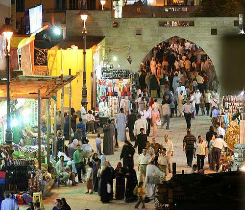 Mercado Sharia as-Souq aswan