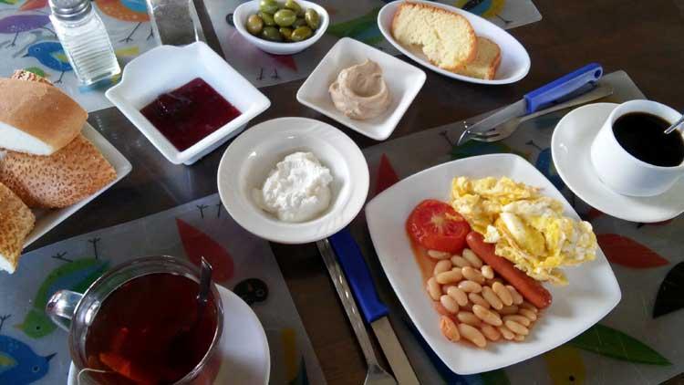 café da manhã hotel amã Jordânia