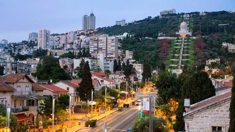 colonia alema haifa