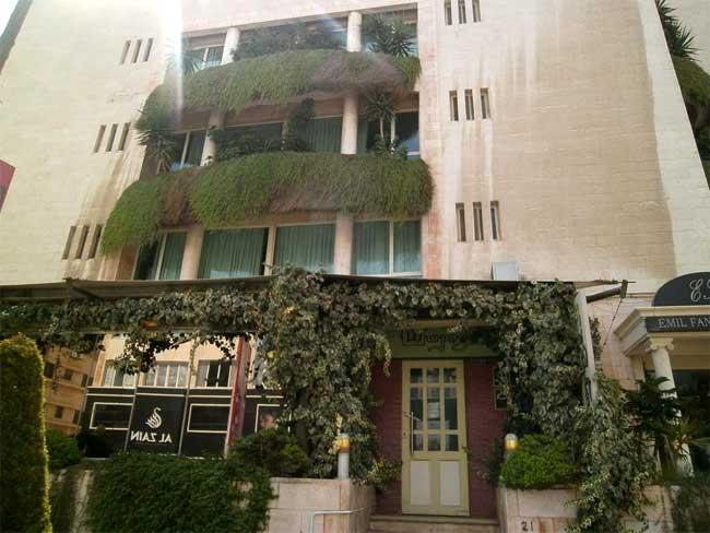hotéis baratos em amã jordânia