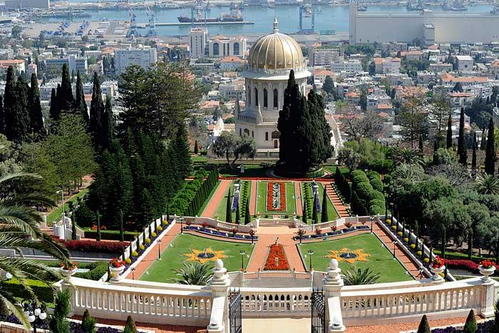 jardim bahai haifa