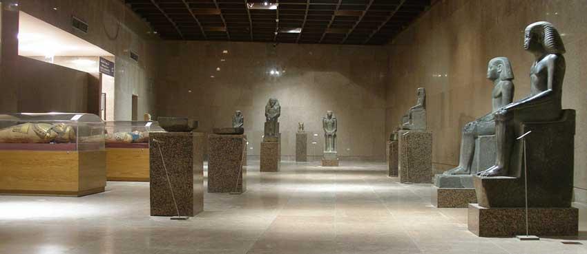 galeria do Museu Núbio