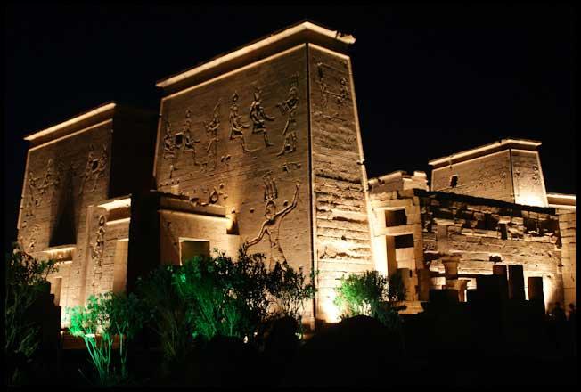 philae show de luzes aswan