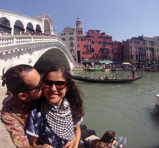 veneza cidade romântica