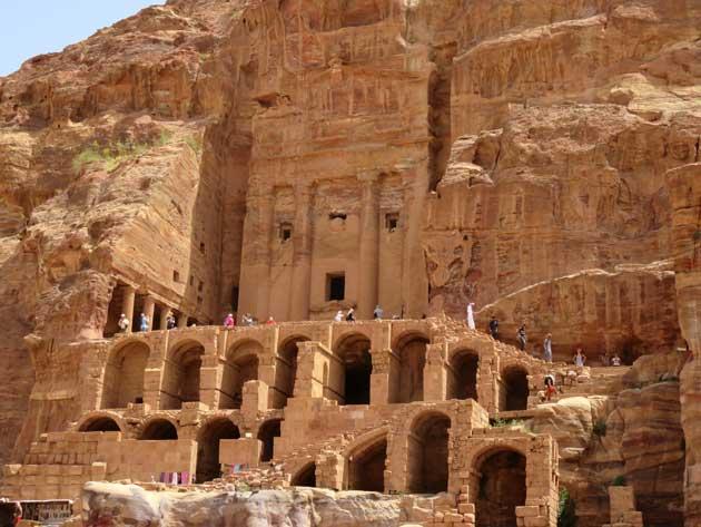 atrações em petra jordania