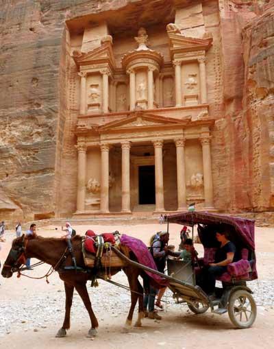 transporte em petra jordânia