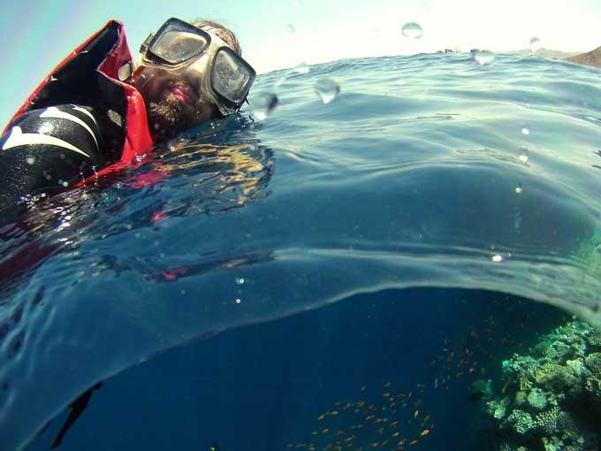 mergulho snorkeling mar vermelho