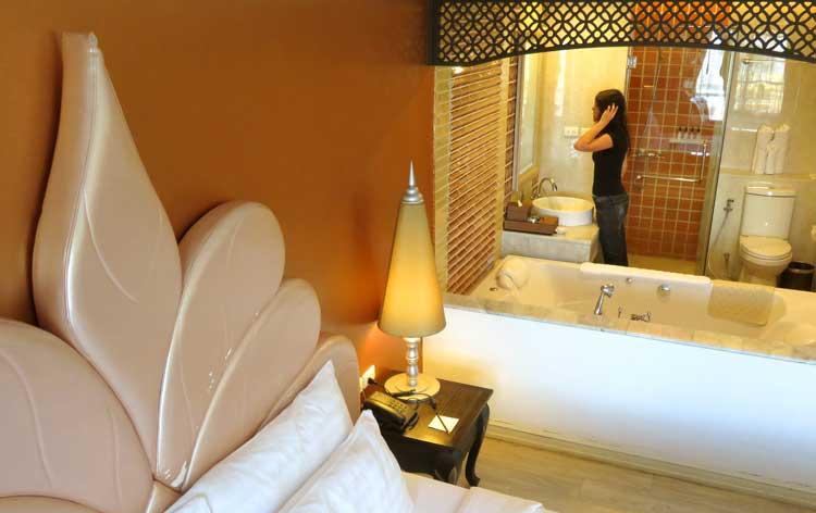 hotel kao san road angkok com banheira hidromassagem