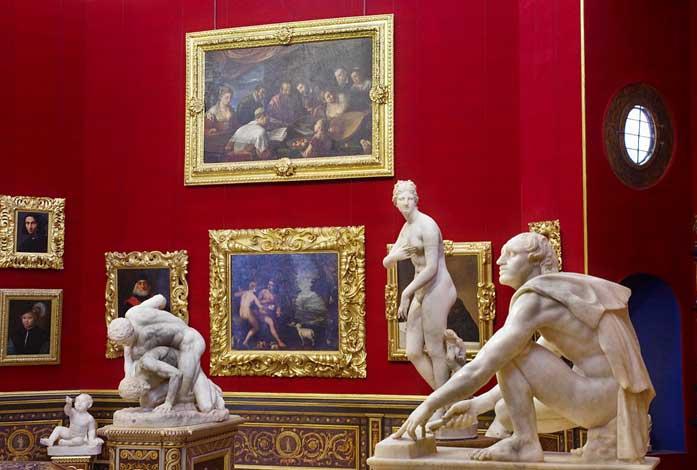 museu Galleria degli Uffizi florença
