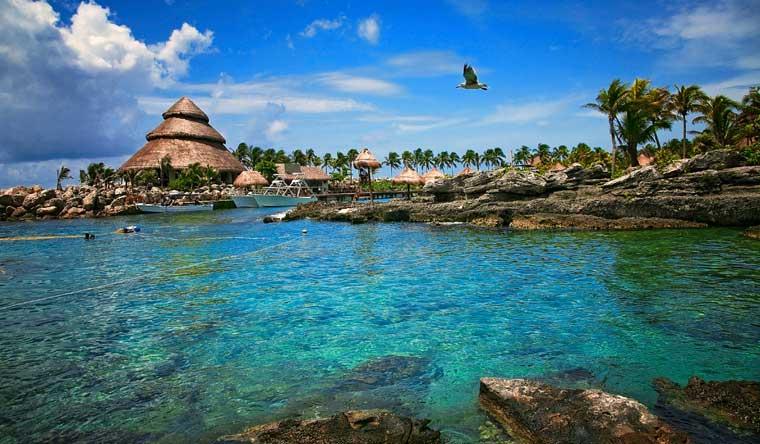 riviera maya xcaret praia