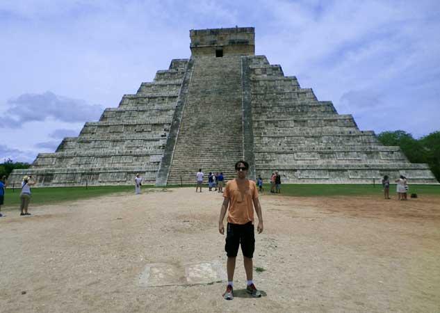 Pirâmide de Kukulcán Chichen Itza