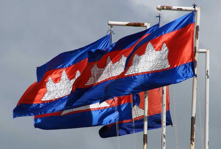 bandeira camboja angkor