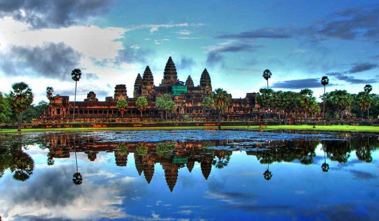 Angkor Wat, um dos templos mais bonitos do mundo