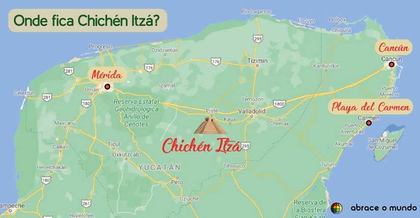 onde fica Chichén Itzá