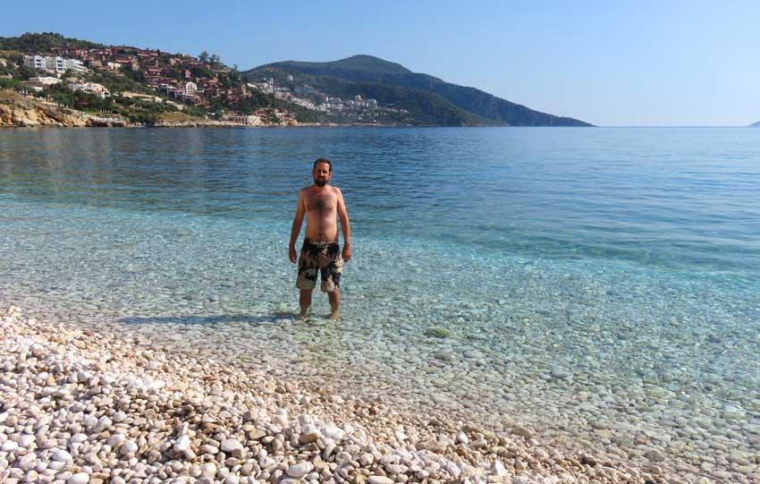 praia mar turquia